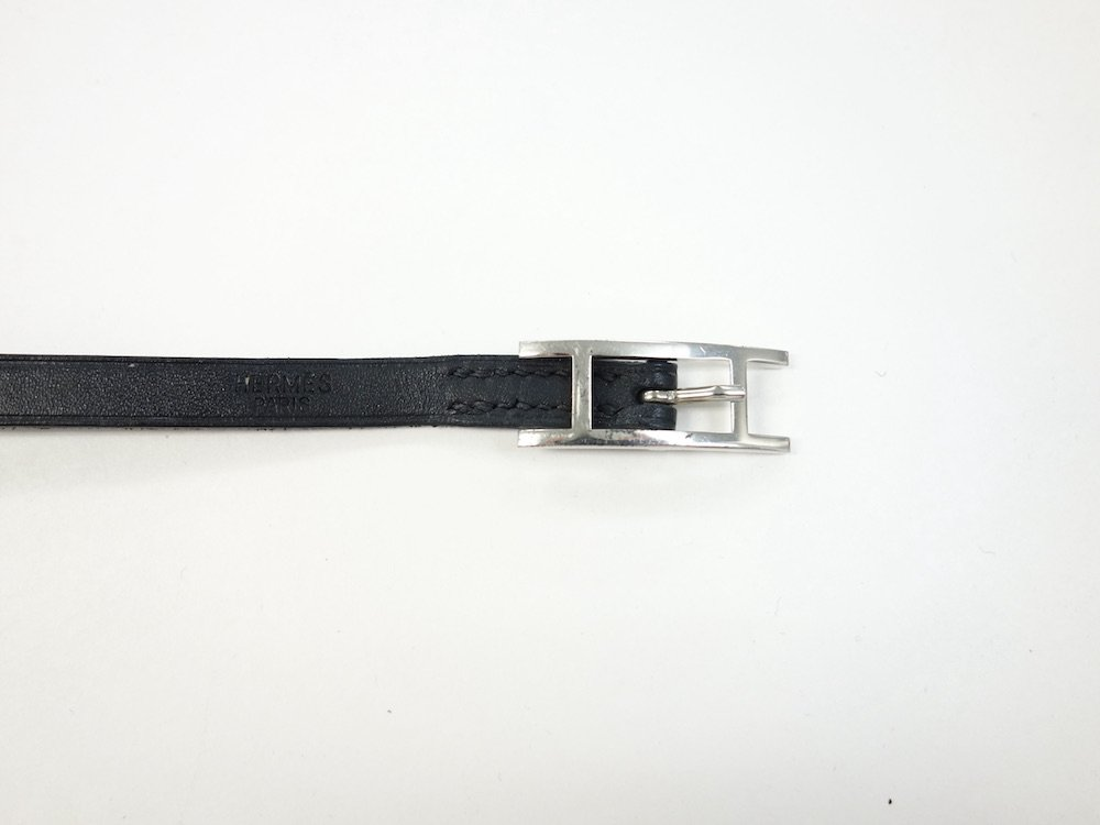 HERMES エルメス アピ   レザーブレスレット MADE IN FRANCE USED
