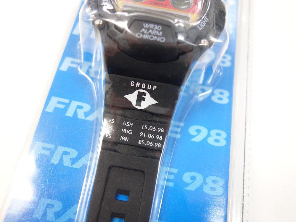 <img class='new_mark_img1' src='https://img.shop-pro.jp/img/new/icons15.gif' style='border:none;display:inline;margin:0px;padding:0px;width:auto;' />FIFA 98 年ワールドカップ フランス大会 ドイツモデル 腕時計 DEAD STOCK