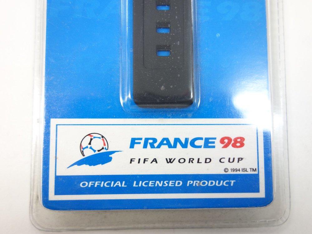 <img class='new_mark_img1' src='https://img.shop-pro.jp/img/new/icons15.gif' style='border:none;display:inline;margin:0px;padding:0px;width:auto;' />FIFA 98 年ワールドカップ フランス大会 アメリカモデル 腕時計 DEAD STOCK