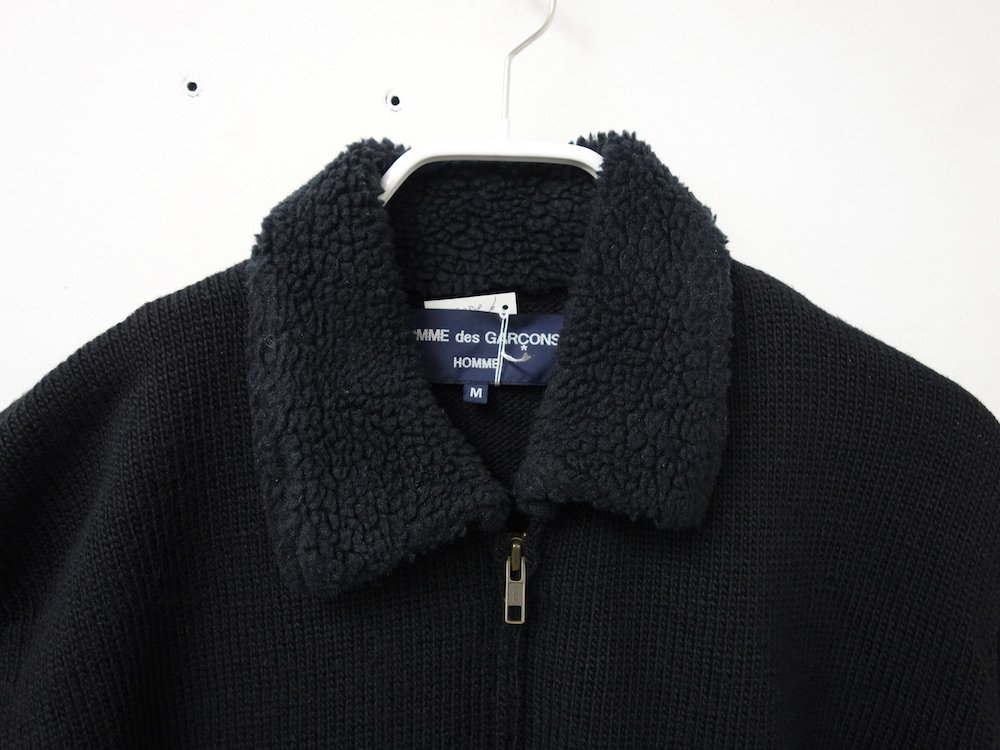 <img class='new_mark_img1' src='https://img.shop-pro.jp/img/new/icons15.gif' style='border:none;display:inline;margin:0px;padding:0px;width:auto;' />COMME des GARCONS HOMME ニットブルゾン AD2005 日本製  USED