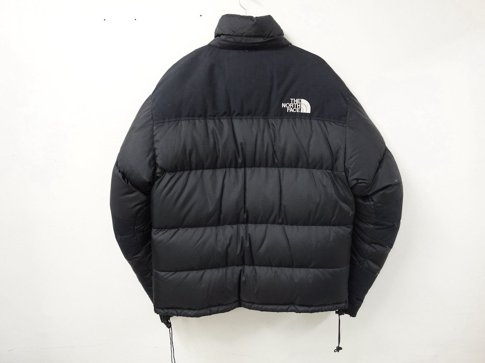 <img class='new_mark_img1' src='https://img.shop-pro.jp/img/new/icons15.gif' style='border:none;display:inline;margin:0px;padding:0px;width:auto;' />THE NORTH FACE ノースフェイス ヌプシサミット ダウンジャケット black USED