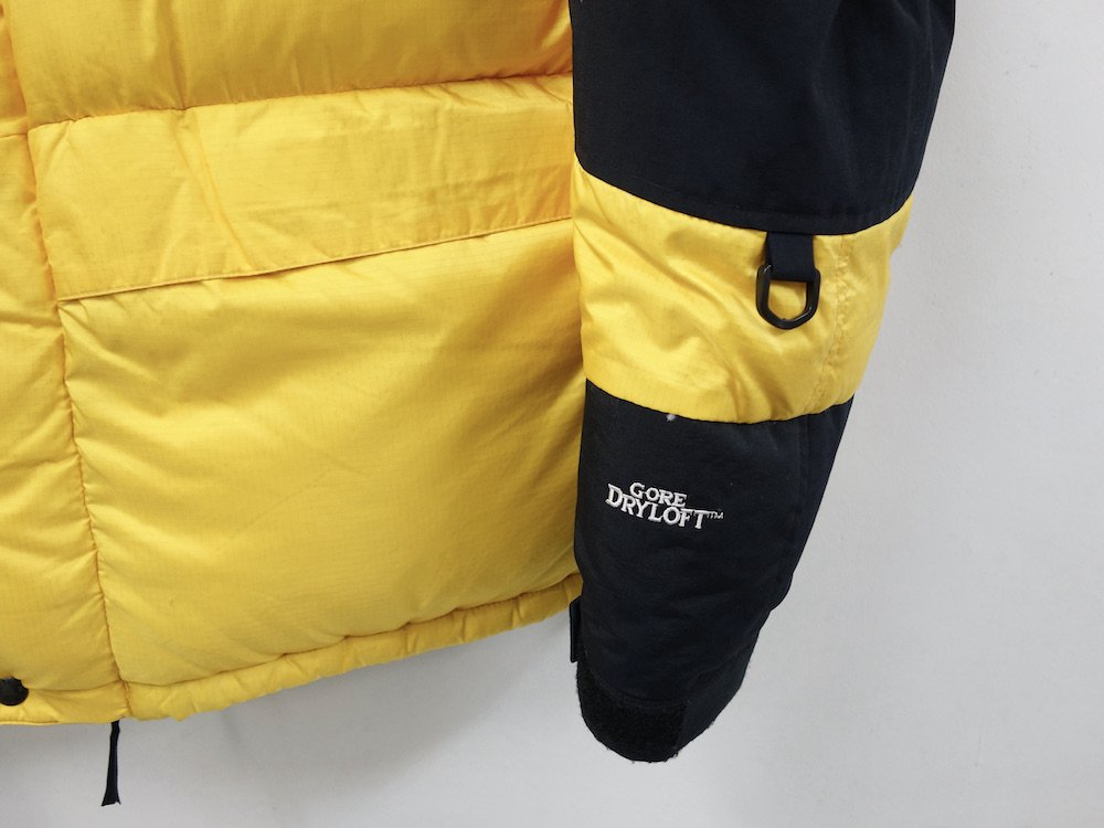 <img class='new_mark_img1' src='https://img.shop-pro.jp/img/new/icons15.gif' style='border:none;display:inline;margin:0px;padding:0px;width:auto;' />THE NORTH FACE ノースフェイス ヌプシサミット ダウンジャケット yellow USED