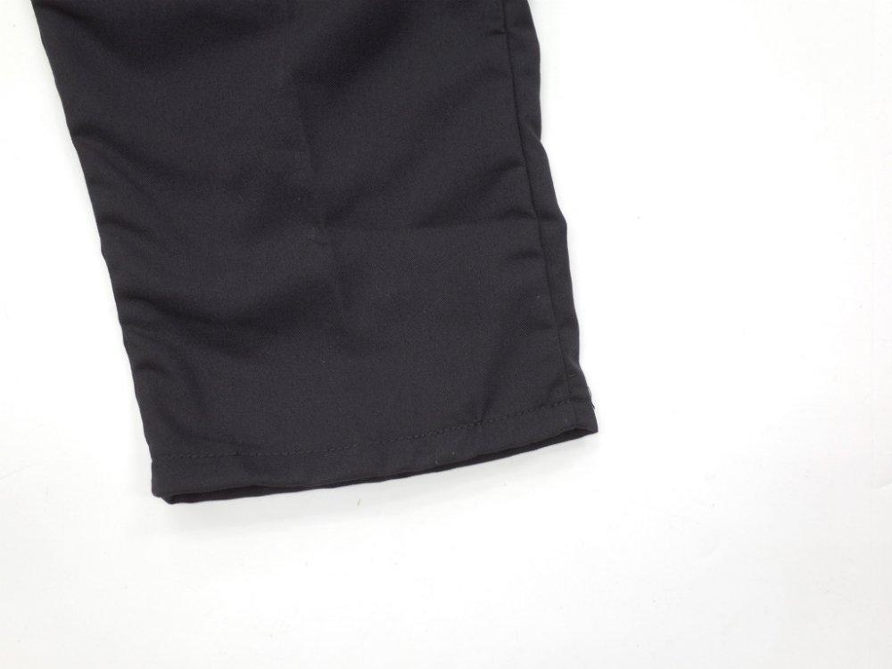 CHEF DESIGNS SPUN POLYESTER BAGGY PANT black ワークパンツ