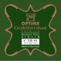 バイオリン弦 ゴールドブラカット プレミアム ブラス E線