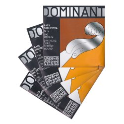 ドミナント コントラバス弦 G,D,A,E線セット
