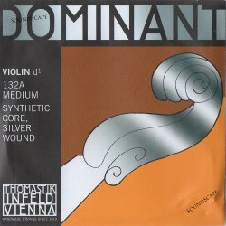 バイオリン弦 ドミナント D線シルバー巻