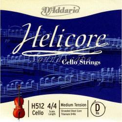ヘリコア チェロ弦 D線