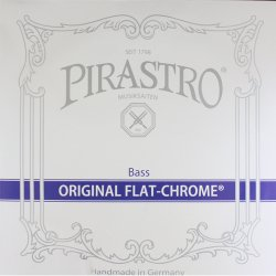 オリジナルフラットクロム コントラバス弦 E線