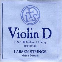 バイオリン弦 ラーセン D線 シンセティックコア / シルバー巻