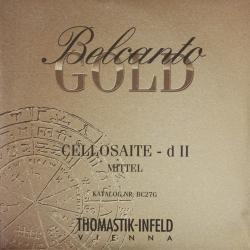 ベルカント ゴールド チェロ弦 旧パッケージ D線