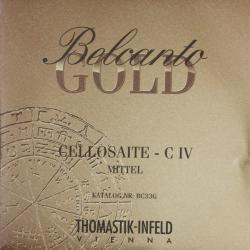ベルカント ゴールド チェロ弦 旧パッケージ C線
