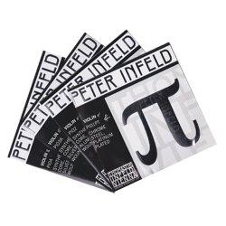 バイオリン弦 ペーターインフェルド E,A,D,G線セット D線シルバー