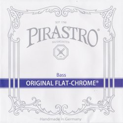 オリジナルフラットクロム ソロ コントラバス弦 E線