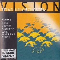 バイオリン弦 ヴィジョン チタニウム オーケストラ G線