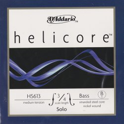 ヘリコア ソロ コントラバス弦 B線