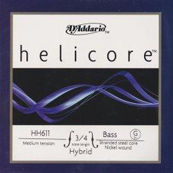 ヘリコア ハイブリッド コントラバス弦 G線