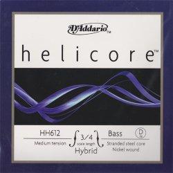ヘリコア ハイブリッド コントラバス弦 D線
