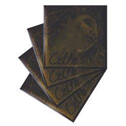 エヴァ・ピラッツィ ゴールド チェロ弦 A,D,G,C線セット