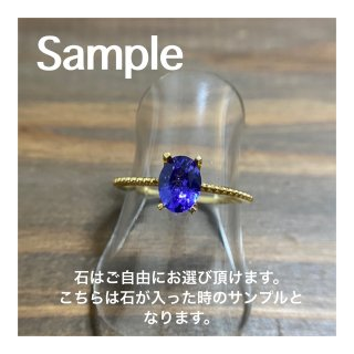 K18 Gold Ring (セミオーダー用)<img class='new_mark_img2' src='https://img.shop-pro.jp/img/new/icons1.gif' style='border:none;display:inline;margin:0px;padding:0px;width:auto;' />