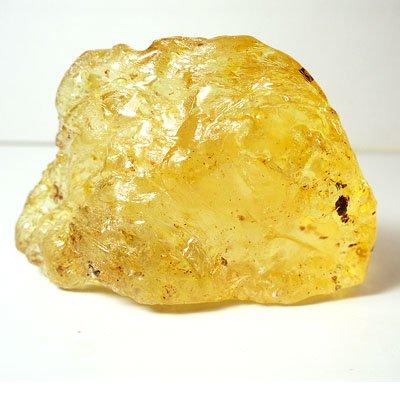 天然石・琥珀(アンバー)虫入り・紐通し穴ありの画像