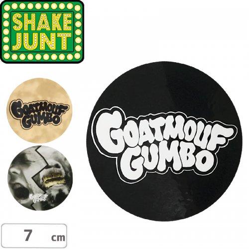【シェイクジャントSHAKEJUNTスケボーステッカー】GOATMOUF GUMBO STICKER【7cm】NO38
