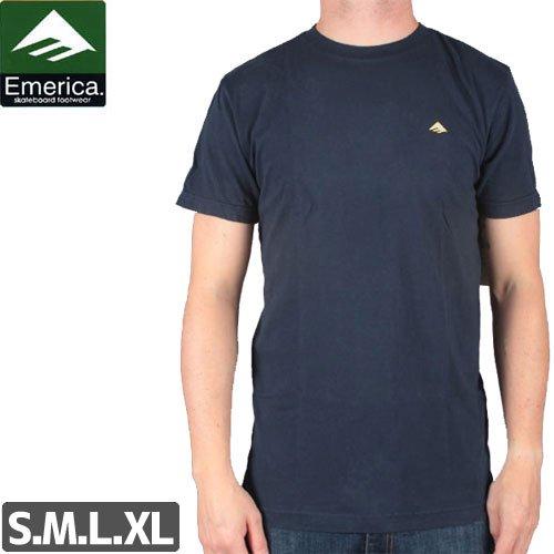 【エメリカ EMERICA スケボー Tシャツ】STIMULOUS TEE【ネイビー】NO132