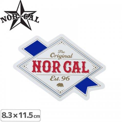 ノーカル NOR CAL ステッカー】RIBBON LABEL STICKER【8.3cm x 11.5cm】NO27