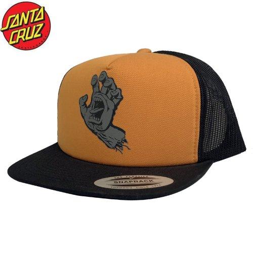 【サンタクルーズ SANTA CRUZ スクリーミングハンド キャップ】SCS SCREAMING HAND MESH TRUCKER HAT【オレンジ】NO29