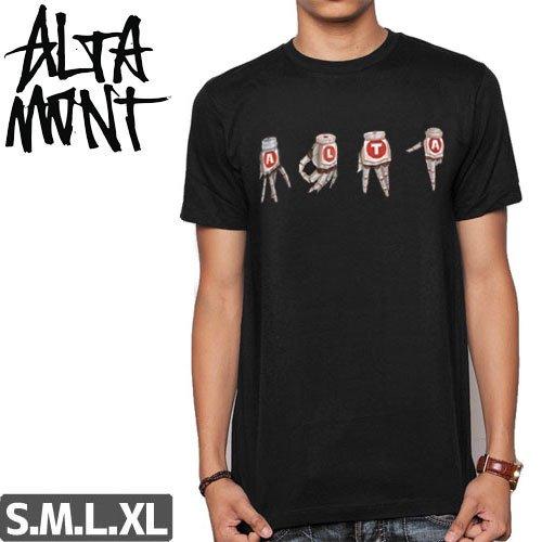 【オルタモント ALTAMONT スケボー Tシャツ】ANDROID GANG SIGNS TEE NO52