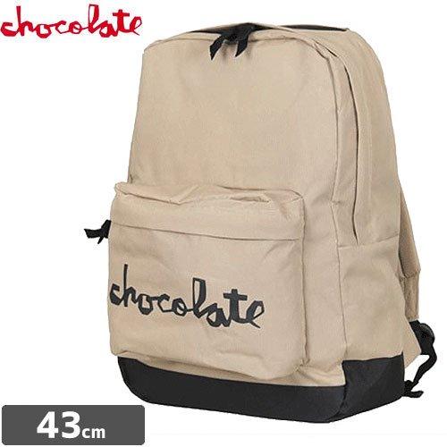 【チョコレート CHOCOLATE スケボー バックパック】CHUNK BACKPACK リュック NO16