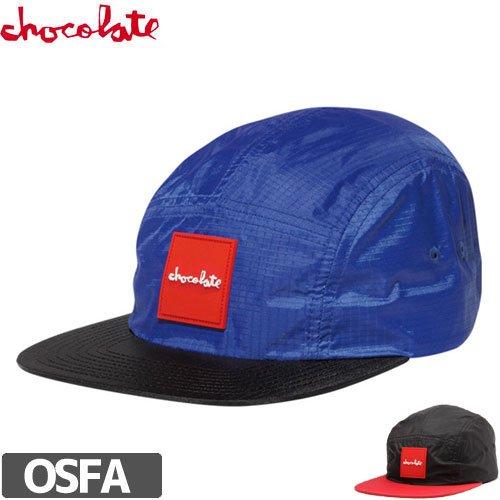 【チョコレート CHOCOLATE スケボー キャップ】RED SQUARE CAMPER HAT NO70