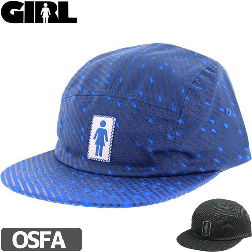 【ガール GIRL スケボー キャップ】OH GS TONAL CAMPER HAT NO73