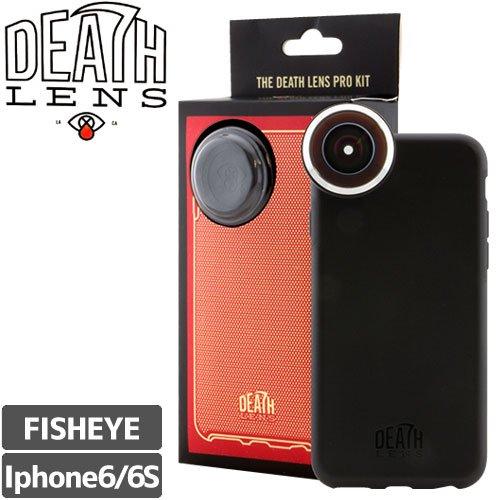 クリアランスSALE!【DEATH DIGITAL デスデジタル レンズ】DEATHLENS デスレンズ PRO KIT - IPHONE 6【魚眼】NO7