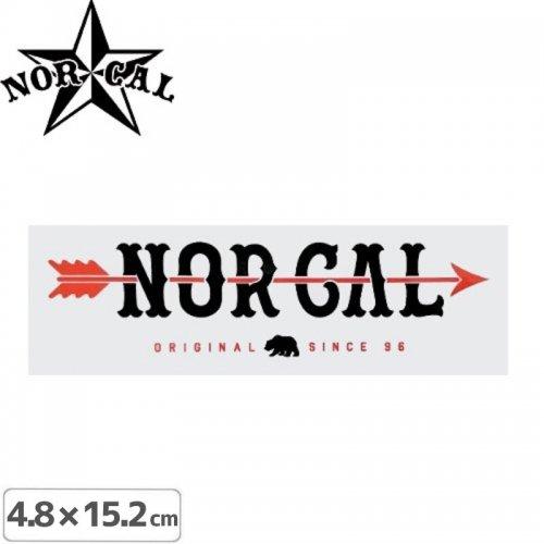 【ノーカル NOR CAL ステッカー】ORIGINAL SINCE 96【4.8cm x 15.2cm】NO30