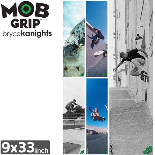 【モブグリップ MOB GRIP デッキテープ】BRYCE KANIGHTS SKATE SHEET【9 x 33】NO152