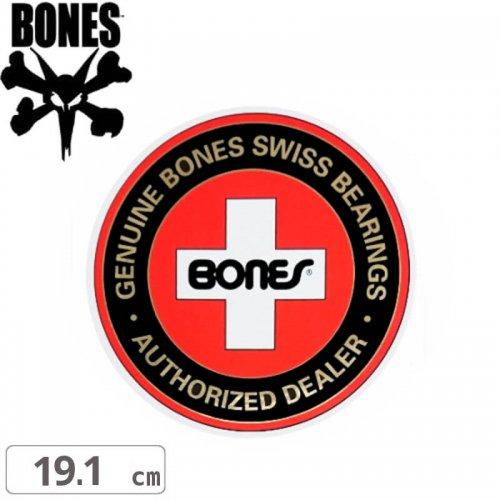 【ボーンズ BONES スケボー ステッカー】AUTHORIZED DEALER【19.1cm x 19.1cm】NO42