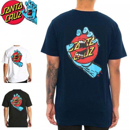【サンタクルーズ SANTA CRUZ Tシャツ】SCREAMING DOT TEE【ブラック】【ホワイト】【ネイビー】NO90