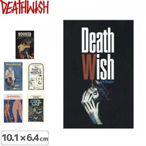 【デスウィッシュ DEATHWISH ステッカー】INC【6種】【10.1cm x 6.4cm】NO129