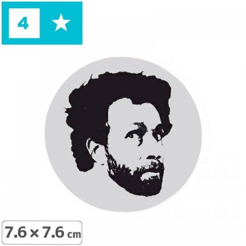 【FOURSTAR フォースター Sticker ステッカー】FOURSTAR LEGEND【7.6cm x 7.6cm】NO7