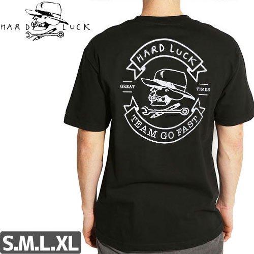【HARD LUCK ハードラック Tシャツ】GREAT TIMES TEE【ブラック】NO3
