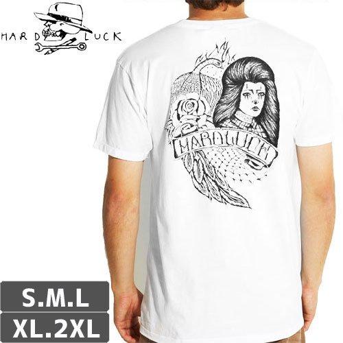 【HARD LUCK ハードラック Tシャツ】PEACOCK TEE【ホワイト】NO4