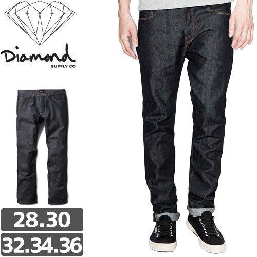 【ダイヤモンド DIAMOND SUPPLY CO ジーンズ】MINED DENIM SKINNY FIT RAW デニム パンツ NO1