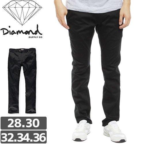 【ダイヤモンド DIAMOND SUPPLY CO チノ】MINED CHINO PANTS SLIM FIT チノパンツ【ブラック】NO3