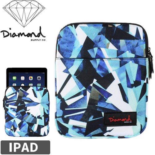 【DIAMOND SUPPLY ダイアモンド タブレットバッグ】SIMPLICITY IPAD BAG【ブルー】NO4