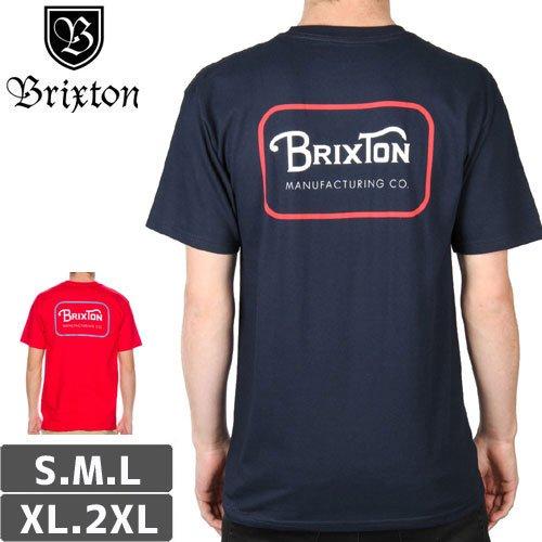 【BRIXTON ブリクストン スケボー Tシャツ】GRADE TEE【2カラー】NO7