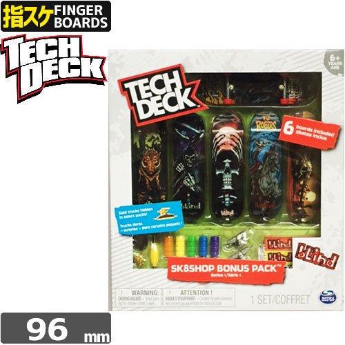 【指スケ TECH DECK テックデッキ ブランド】BONUSPACK【6セット】【BLIND】NO1
