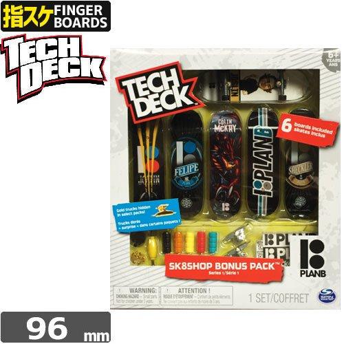 【指スケ TECH DECK テックデッキ プランビー】BONUSPACK【6セット】【PLAN-B】NO1