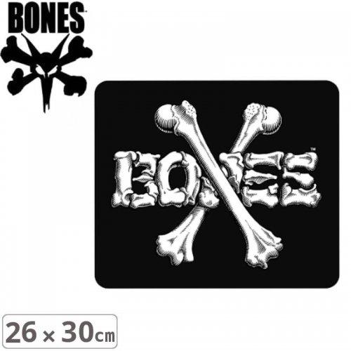 【ボーンズ BONES スケボー ステッカー】CROSS BONES【26cm x 30cm】NO47