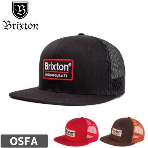 【BRIXTON スケボー キャップ】PALMER MESH CAP【ブラック】【ブラウン】【レッド】NO36