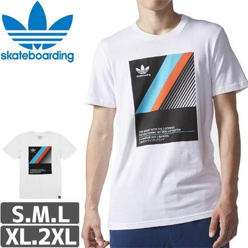 【アディダス ADIDAS SKATEBOARDING Tシャツ】VHS BLOCK TEE NO24